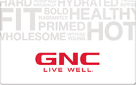 Buy GNC Gift Card