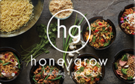 Buy honeygrow Gift Card