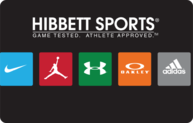 Buy Hibbett Sports Gift Card