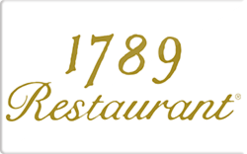 Buy 1789 Restaurant Gift Card