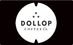 Sell Dollop Coffee Co. Gift Card