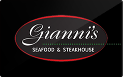Sell Gianni's Steakhouse Gift Card