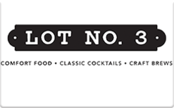 Sell Lot No. 3 Gift Card