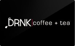 Sell DRNK coffee + tea Gift Card