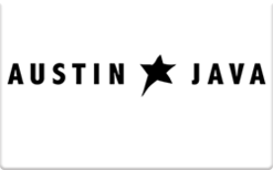 Buy Austin Java Gift Card