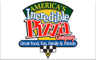 Buy America's Incredible Pizza Co. Gift Card
