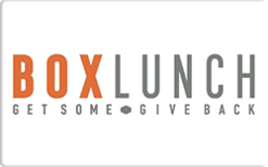 Buy Box Lunch Gift Card