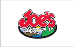 Sell Joe's Sporting Goods & Ski Shop Gift Card