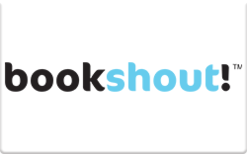 Sell Bookshout Gift Card