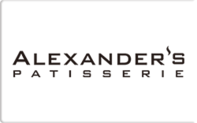 Buy Alexander's Patisserie Gift Card