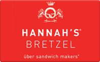Buy Hannah's Bretzel Gift Card