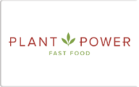 Buy Plant Power Fast Food Gift Card