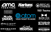 Buy Atom Movie Tickets Gift Card