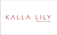 Buy Kalla Lily Salon and Spa Gift Card