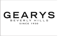 Buy Gearys Beverly Hills Gift Card