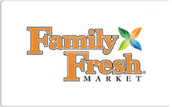 Sell Family Fresh Market Gift Card