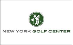 Buy New York Golf Center Gift Card
