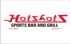 Sell Hot Shots Sports Bar & Grill Gift Card
