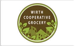 Sell Wirth Cooperative Grocery Gift Card