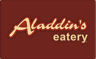 Buy Aladdin's Eatery Gift Card
