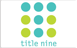 Sell Title Nine Gift Card