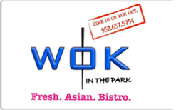 Sell Wok in the Park Gift Card