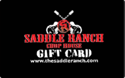 Sell Saddle Ranch Chop House Gift Card