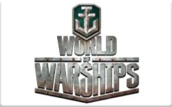 Sell Wargaming.net World of Warship Gift Card