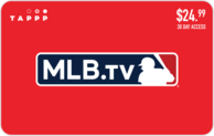 Mlb tv 30 day access gift card