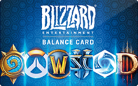 Buy Blizzard Entertainment Balance Gift Card