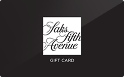 Sell Saks Fifth Avenue Gift Card