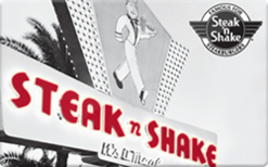 Sell Steak 'n Shake Gift Card