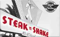 Steak n shake gift card