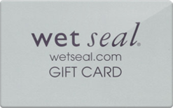 Buy Wet Seal Gift Card