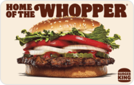 Buy Burger King Gift Card