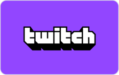 Sell Twitch Gift Card