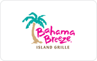 Buy Bahama Breeze Gift Card