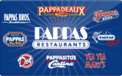 Sell Pappas Restaurants Gift Card