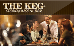 Buy The Keg Steakhouse & Bar Gift Card