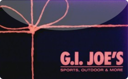 Sell G.I. Joe's Sports Gift Card