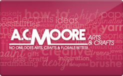 AC Moore Gift Card - Check Your Balance Online | Raise.com