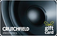 Buy Crutchfield Gift Card