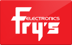 Fry's Electronics Gift Card - Check Your Balance Online   Raise.com