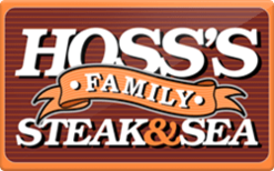 Sell Hoss's Family Steak & Sea Gift Card