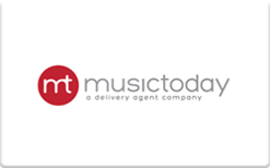 Buy Music Today Gift Card