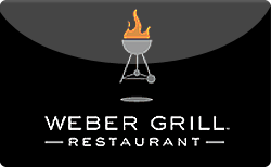 Sell Weber Grill Restaurant Gift Card