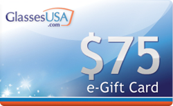 Buy GlassesUSA.com $75 Gift Card