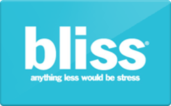 Sell Bliss Gift Card