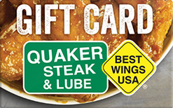 Buy Quaker Steak & Lube Gift Card