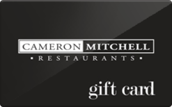 Buy Cameron Mitchell Restaurants Gift Card